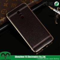 China Electroplated UV printing leather soft TPU mobile phone cover for Xiaomi Redmi Pro case on sale