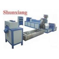 Wholesale Double screw waste plastic recycling machine from china suppliers
