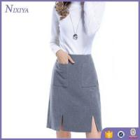 Wholesale Grey Skirts Women, New Office Skirts and Blouses for Women, Spring Design Skirts and blouses from china suppliers