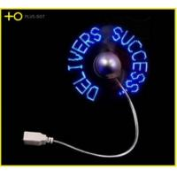 Wholesale customize usb driver led message fan from china suppliers
