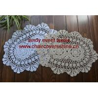 Wholesale HD-017Oval doily placemat from china suppliers