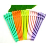 High Quality Cheap Colorful Plastic Sewing Needles For Adults And Children