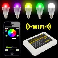 Wholesale LED Panel Light Iphone IOS for Android Smart Phone + 9W RGBW LED Bulb from china suppliers