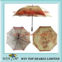 Wholesale 27 Inch Ancient Egypt Map Heat Transfer Umbrella from china suppliers