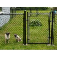 VINYL COATED 6' black chain link fence roll function Shelters, Canopies & Tents