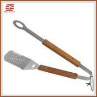 Wholesale 2 in 1 spatular with tong in high quanlity and bbq fish turner from china suppliers