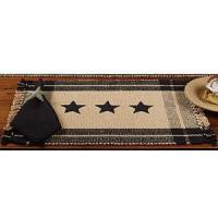 "Wholesale Black Simply Stars Placemat Doz (13x19"") from china suppliers"