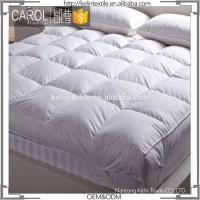 Wholesale Hypoallergenic Resists Mold 100% Polyester Knitted Fabric Mattress Topper from china suppliers