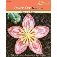 Wholesale CROCHET PATTERNS LOVELY LILY Dishcloth from china suppliers
