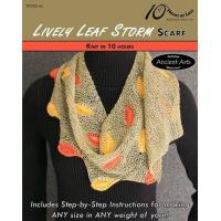 Buy cheap KNITTING PATTERNS LIVELY LEAF STORM Scarf from wholesalers