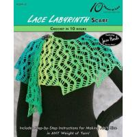 Buy cheap CROCHET PATTERNS LACE LABYRINTH Scarf from wholesalers