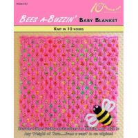 Buy cheap KNITTING PATTERNS BEES A-BUZZIN' Baby Blanket from wholesalers