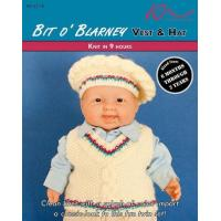 Buy cheap KNITTING PATTERNS BIT O' BLARNEY Baby Vest & Hat from wholesalers