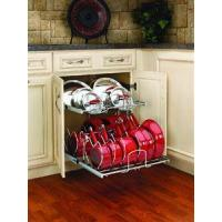 Wholesale 21 in Cookware Organizer Two-Tier/Chrome from china suppliers