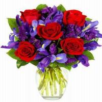 Wholesale Winter Ruby Rose Bouquet NO.104 delivery flower to china from china suppliers