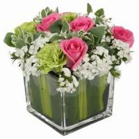Wholesale Beautiful Roses With Vase NO.97 delivery flower to china from china suppliers