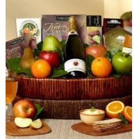Wholesale Farmstand Finest Deluxe Fruit Gift Basket NO.7 delivery basket from china suppliers