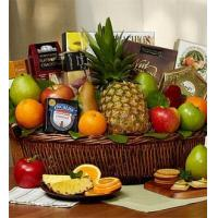 China Fruit & Cheese Gift Basket NO.3 delivery basket to china on sale