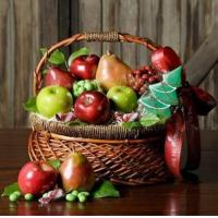 Wholesale Mini Christmas fruit basket NO.22 delivery basket to china from china suppliers