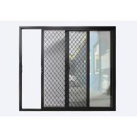 China Sliding Door with Security Grille on sale
