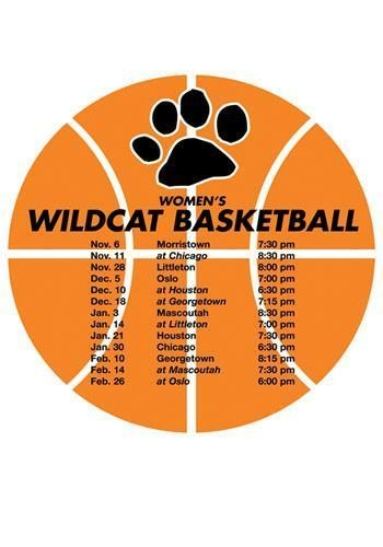 Quality Printed Schedule Basketball 5.75in X 5.75in Magnets for sale