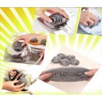 Wholesale stainless steel kitchen Cleaning Ball Scourer from china suppliers