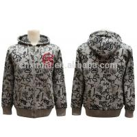 Wholesale fashion latest design zipper-up promotion cheap china tall hoodies from china suppliers