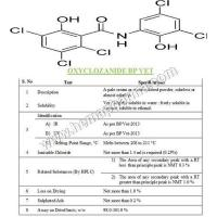 Wholesale Oxyclozanide BP VET from china suppliers