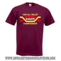 China The Karate Kid All Valley Karate Championship Retro Movie T Shirt / Hoodie on sale