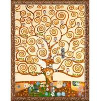 Wholesale Gustav Klimt Tree of Life Hand Painted Reproduction Oil Painting from china suppliers