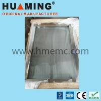 China 5mm thickness glass MRI window for MRI shielding ROOM with wire mesh inside (HM-SW) on sale