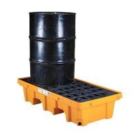 Wholesale Oil containment drum spill control pallets from china suppliers