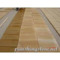 Wholesale Yellow wooden Sandstone Tile from china suppliers
