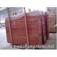 Wholesale red travertine Marble Slab from china suppliers
