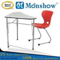 Adjustable Student Desk With Chair For School Furniture