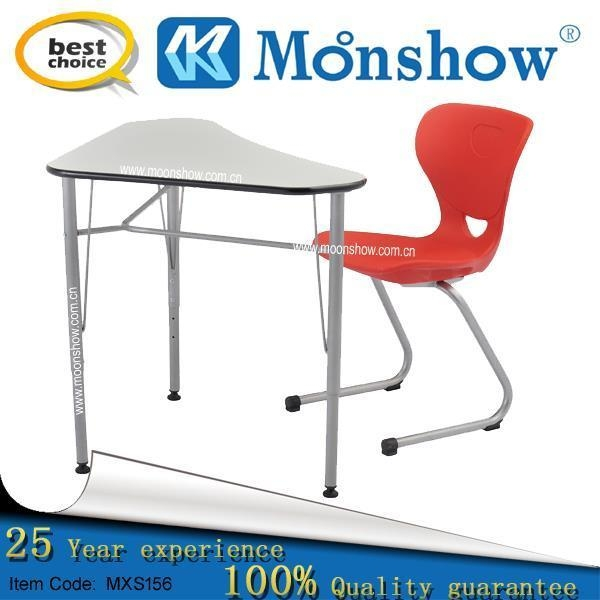 Quality Adjustable Student Desk With Chair For School Furniture for sale