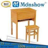 Wholesale Full Hardwood Single Desk And Chair from china suppliers