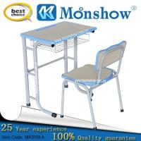 Wholesale University Popular Single Desk And Chair from china suppliers
