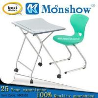 Wholesale Fashion Foldable Single Desk And Chair from china suppliers