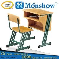 Wholesale Colleage Single Hardwood Metal School Furniture from china suppliers