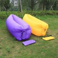 China inflatable air bag inflatable lazy air bed sofa on sale