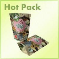 Wholesale 16oz Clear Window Kraft Paper Stand Up Bag Packaging For Pistachios Multi Colored from china suppliers