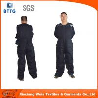 Wholesale FR HEAVY Black INSULATED Winter Bib Overalls from china suppliers