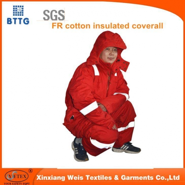 Quality FR Premium Insulated Coverall Cotton Blend for sale