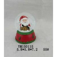 Wholesale Santa Claus Polyresin 55mm Christmas Waterglobe from china suppliers