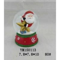 Wholesale Santa Claus Polyresin 80mm Christmas Waterglobe from china suppliers