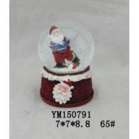 Wholesale Santa Claus Polyresin 65mm Christmas Waterglobe from china suppliers