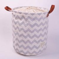 100% Natural Canvas ECO Friendly Collapsible Foldable Laundry Baskets