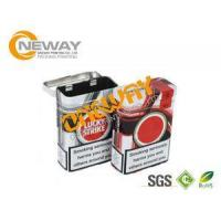 Wholesale Fashion Tin Boxes With Lids Cigarette Metal Tin Can Pure Color For Gift from china suppliers