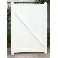 Vinyl Privacy Fence gate